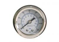 """VIAIR ukazatel tlaku 1,5"""" jednoručkový bílý"""