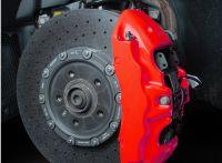 FOLIATEC dvousložková barva na brzdy Neonově červená