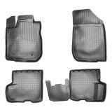 Gumové koberce vaničky pro Dacia Logan (L52) (2014r =>)