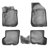 Gumové koberce vaničky pro Dacia Sandero (B52) 3D (2014r =>)