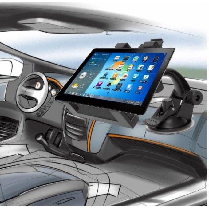 """Univerzální držák do auta pro iPad, iPhone, tablet a čtečky knih, navigaci, gps, rameno 360° mobilního zařízení 5,7""""- 8"""""""