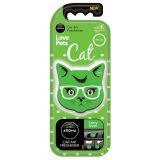 Osvěžovač kočka citrusová AROMA CAR Cat fancy green