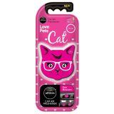 Osvěžovač kočka květy AROMA CAR Cat pink blossom