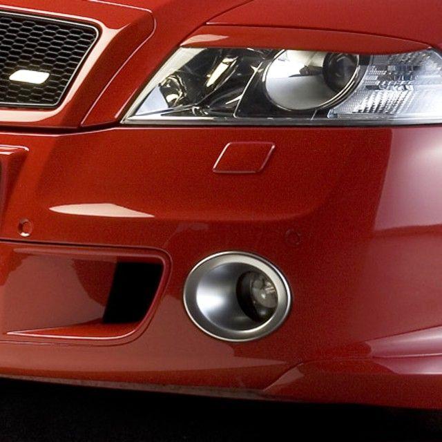 Rámečky mlhových světel - ABS stříbrný, Škoda Octavia II RS