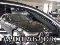Ofuky plexi Audi A6 5D 2018r =>, přední