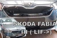 Zimní clona Škoda Fabia III 2018r => horní, facelift