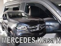 Ofuky oken Mercedes X 4D 2017r =>, 4ks přední+zadní