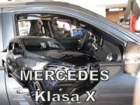 Ofuky oken Mercedes X 4D 2017r =>, 2ks přední