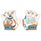 Dětské Cyklistické rukavice Star wars BB8 Hvězdné Války, Velikost 5