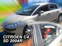 Plexi, ofuky Citroen C4 5D 2004 => + zadní HDT