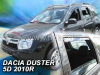 Plexi, ofuky Dacia Duster 5 dveř., od roku 2010r =>, sada 4ks, přední + zadní HDT