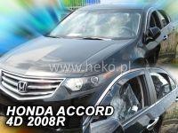 Plexi, ofuky Honda Accord 4D 2008 =>, přední HDT