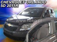 Plexi, ofuky Chevrolet Orlando 5dv., od roku 2011r =>, přední HDT
