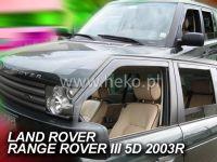 Plexi, ofuky Land Rover Range Rover III, 2002 =>, přední + zadní HDT