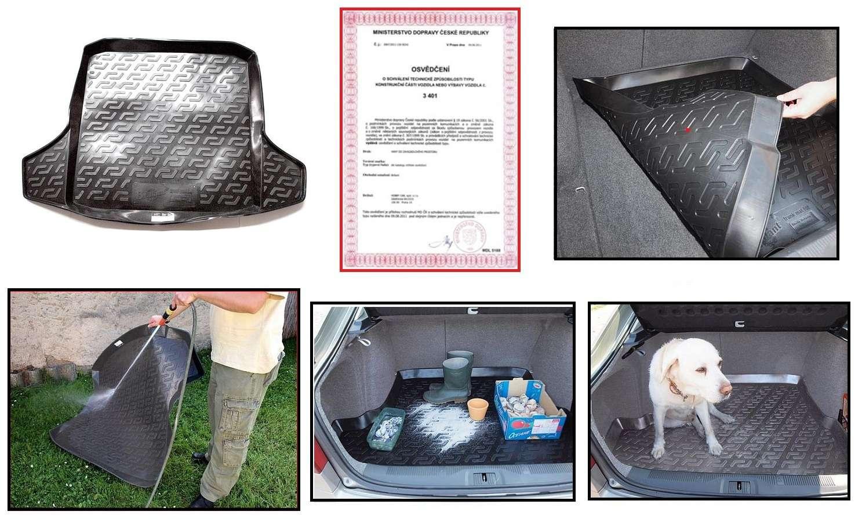 Gumová přesná Vana do zavazadlového prostoru Audi A6 2011=> sedan