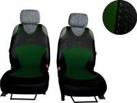 Autopotahy kůže zelená Active Sport 1+1