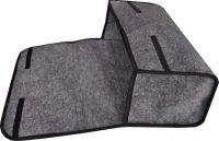 Brašna do kufru šedá 50 x 27 x 16 cm