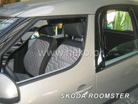 Plexi, ofuky bočních skel ŠKODA ROOMSTER, 5D 2006 =>, přední + zadní HDT