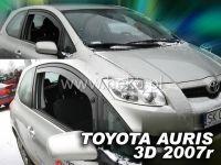 Plexi, ofuky bočních skel TOYOTA Auris 3D 2007 =>, přední HDT