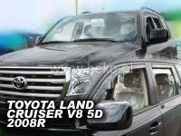 Plexi, ofuky Toyota Land Cruiser V8 5D 2008r přední HDT