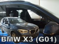 Ofuky plexi  BMW X3 G01 5D 2017r =>, přední