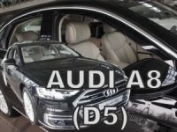Ofuky plexi Audi A8 5D 2017r =>, přední+zadní