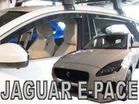 Ofuky plexi Jaguar E-pace 4D 2018r =>, přední+zadní