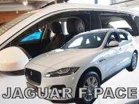 Ofuky plexi Jaguar F-pace 4D 2018r => přední+zadní