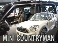 Ofuky plexi Mini Countryman 5D 2017r =>, přední+zadní