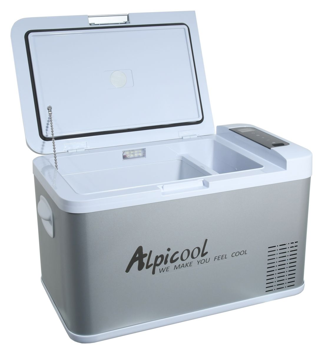 Kompresorový chladící box lednička ALPICOOL 25l 230V 24/12V -20°C