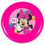 Létající talíř disk Disney Minnie Mouse 25 cm