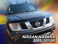 Lišta přední kapoty přesná Nissan Navara 2005-2010r