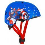 DĚTSKÁ sportovní freestyle přilba Captain America 54-58cm