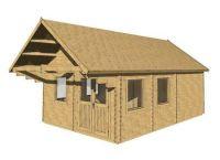 Zahradní domek Scoot, 23.6m2, dřevo