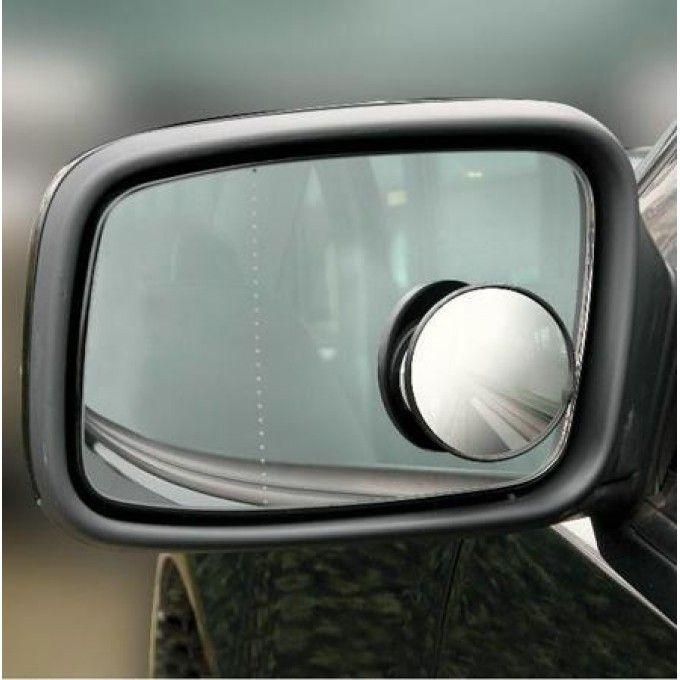 Mrtvý bod zrcátko na boční sklo kautomobilu kulaté 50 mm, černá Plus
