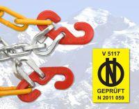 Sněhové řetězy X40 Rychloupínací křížová stopa 3,0 mm 9mm, Nylonová tašk Vyrobeno v EU