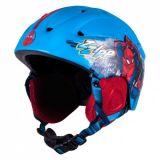 DĚTSKÁ přilba Lyže, Snowboard Spiderman 54-58 cm