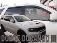 Ofuky oken Dodge Durango 4D 2011r => přední+zadní