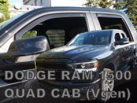 Ofuky oken Dodge Ram 4D 2019r => přední+zadní quad cab
