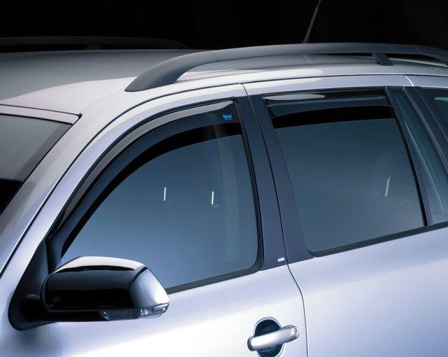 Větrné clony (ofuky), Škoda Octavia III. Limousine, zadní
