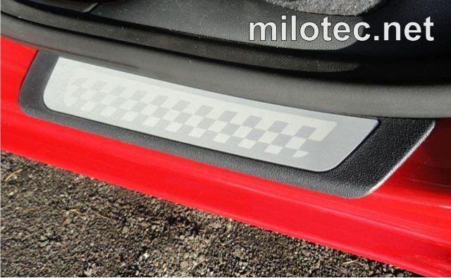 Ochranné kryty prahů - zadní, Škoda Fabia II. RS