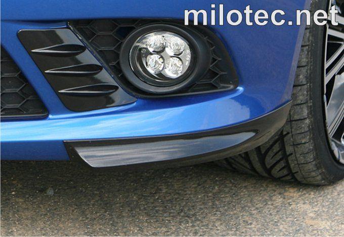 Rozšíření předního nárazníku, ABS - černá metalíza - Škoda Fabia II. RS 09/2010 –›