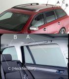 Sluneční clony sada - zadní dveře, zadní okna, páté dveře, Škoda Rapid Spaceback, Typ NH, 5-dveř., 2013 –›