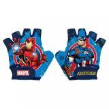 RUKAVICE na kolo cyklo Avengers Iron man, Captain America XS od 3let