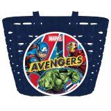 Dětský Košík na kolo Avengers modrá