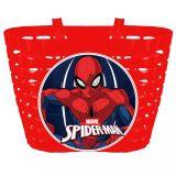 Dětský Košík na kolo Spiderman červená