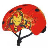 DĚTSKÁ sportovní freestyle přilba Iron man 54-58cm