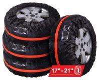 Návleky na pneumatiky 4ks pro gumy R17 - R21