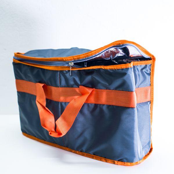 Termotaška TC-5 40x30x13 cm modro-oranžová Vyrobeno v EU