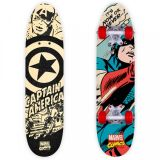 SKATEBOARD dřevěný Captain America do 50 kg